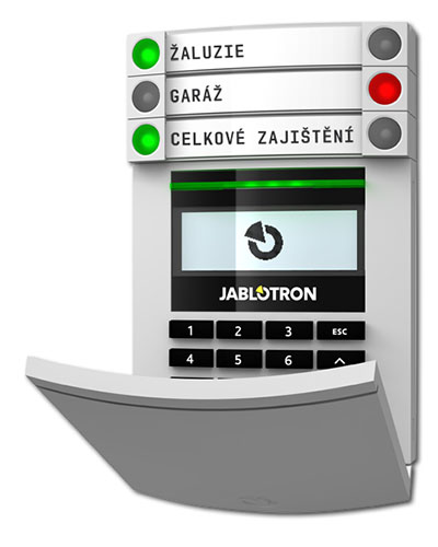 Zabezpečovací systém Jablotron 100